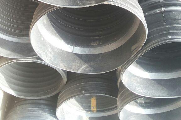 HDPE钢带增强螺旋波纹管(承插式)
